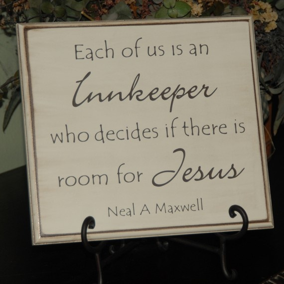 love this...Christmas Gift Ideas, God Things, Faith, Make Room For Jesus, Inspiration Thoughts, Christmas Quotes, Innkeeper Jesus, Inn Keeper, Inspiration Quotes