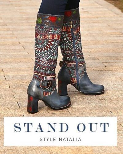 L'Artiste by Spring Step Boots NATALIA Blue | Canada | Buy Online