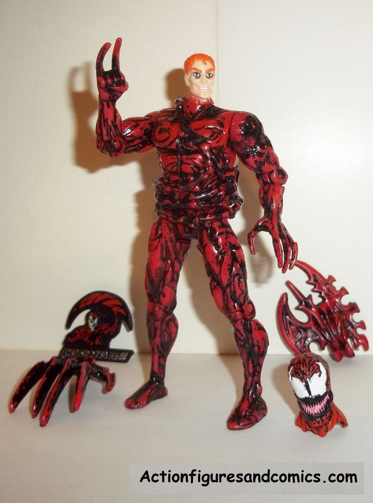 Toys For Gentleman : Spider man the animated series carnage ii unmasked
