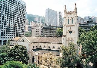 St. John's Cathedral, Central, Hong Kong