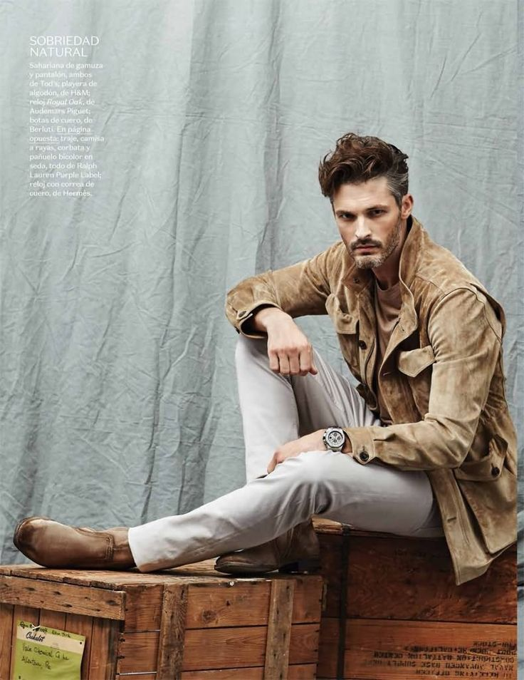 Ben Hill Models Chic Neutral Fashions for Vogue Hombre Shoot