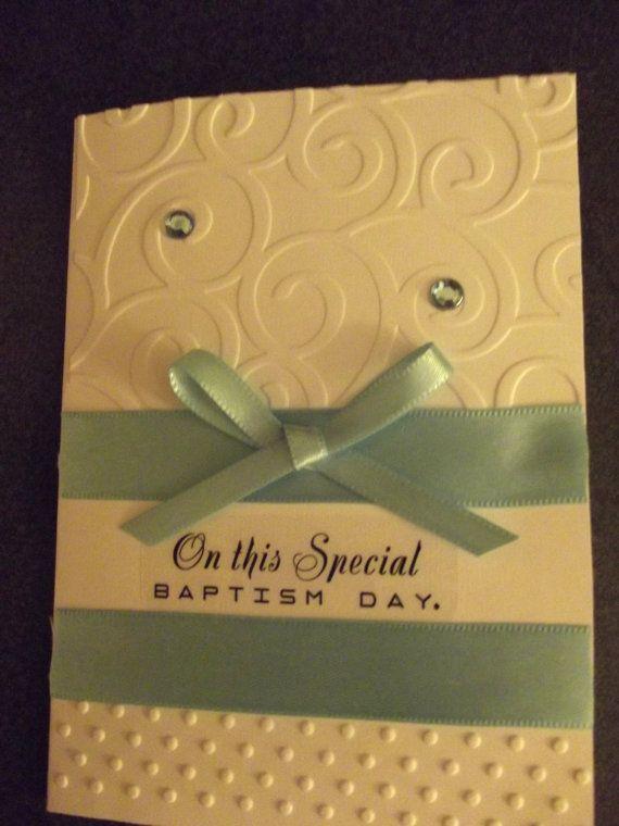 67 best baptism cards images on pinterest baptism cards embossed baptism greeting card m4hsunfo
