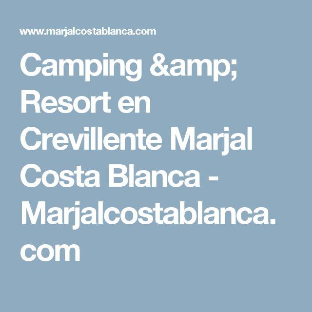 Camping & Resort en Crevillente Marjal Costa Blanca  - Marjalcostablanca.com