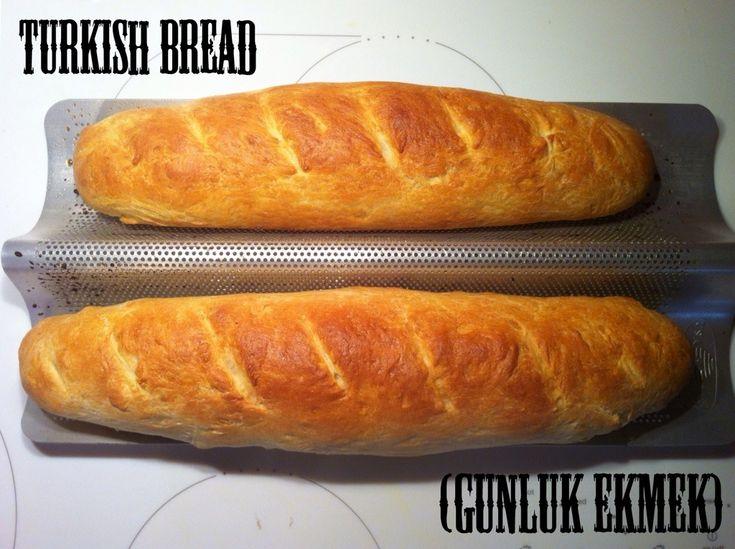 Turkish Bread (Günlük Ekmek) | Jornie.com ~ easy recipe for really amazing bread!