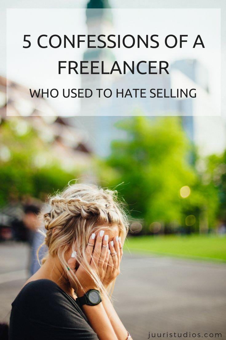 5 confessions of a freelancer