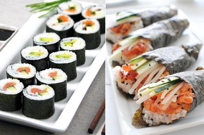 #sushi eten tijdens #zwangerschap - Minime.nl