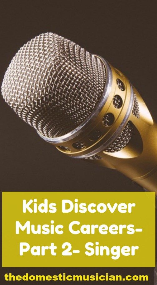 How to have a music career as a singer. Kids will learn how to sing and how to have a career in music.