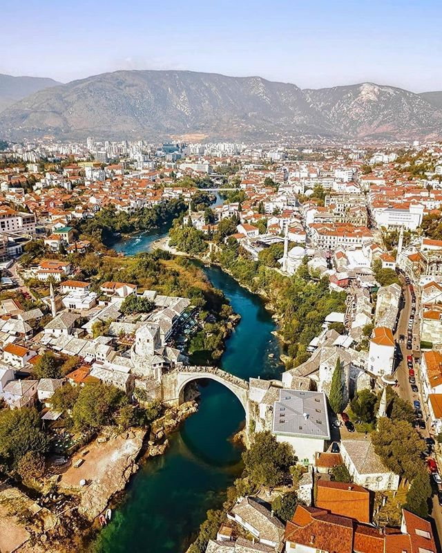 Mostar Is A City In Southern Bosnia And Herzegovina Straddling The Neretva River Its Known For The Iconic Stari Most Old Bridge A Mostar Bosnia Old Bridge
