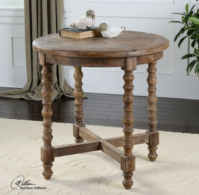Uttermost Samuelle Wooden End Table End Tables Wood End Tables