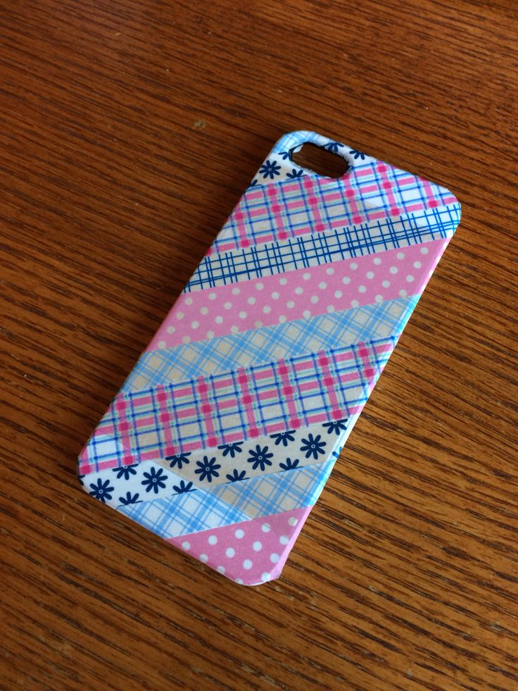 17 best ideas about homemade phone cases on pinterest for Washi tape phone case