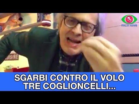 """Vittorio Sgarbi contro Il Volo: """"tre coglioncelli..."""" - YouTube"""