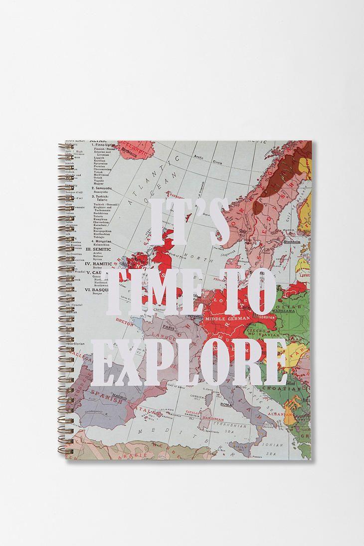 Beautiful Spiral Notebook #urbanoutfitters #notebook