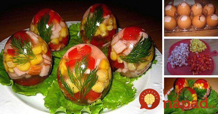 Hľadáte na veľkonočný stôl chutné a originálne pohostenie? Prinášame vám skvelý tip na farebné želé vajcia na slano, s rýchlou prípravou a vynikajúcou chuťou. Vyskúšate? :-)