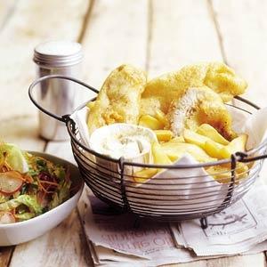 Recept - Fish & chips - Allerhande