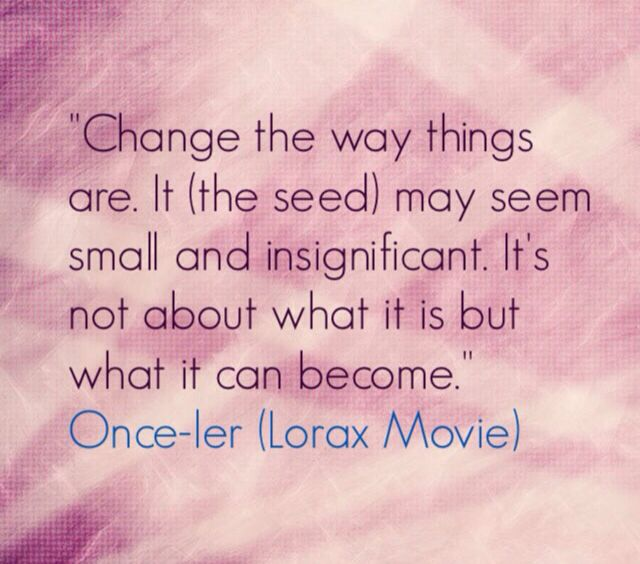 Dr Seuss The Lorax Full Movie In English: The Seed - Lorax Movie Quote