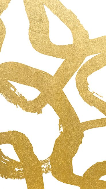 iPhone wallpaper- gold swirls