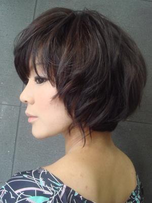 髪型・ヘアカタログ・ヘアアレンジ:ふんわりボブヘアー/CRAIVE NEWYORK[クライブ ニューヨーク](心斎橋)の美容室情報|KamiMado(かみまど)