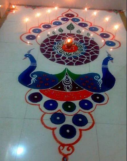 312 best Rangoli images on Pinterest | Mandalas, Beautiful ...