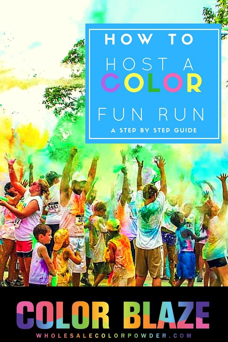 Fun Runs have always been a great way to raise money for charitable organizations, schools, churches and more. Add a splash of color and host a color run