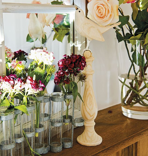 17 best images about ideas con flores on pinterest - Flores artificiales decoracion ...