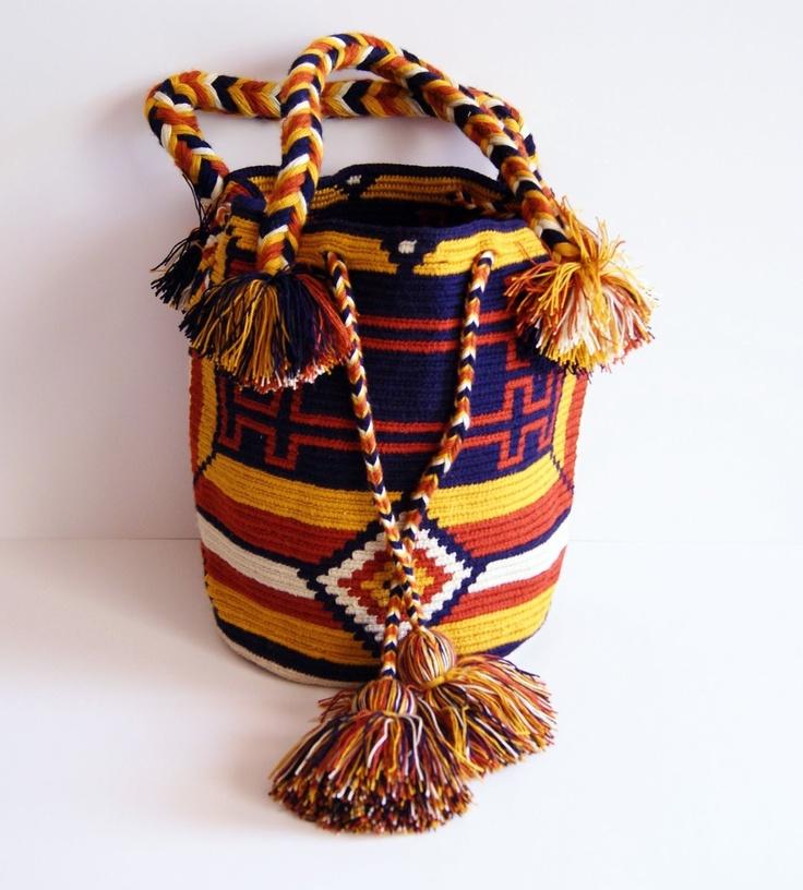 Wayuu Purse  $160 http://www.caritocaro.com/wayuubags/wayuu-medium-bag.htmlFashion Handcrafted by Artisans Wayuu Bags