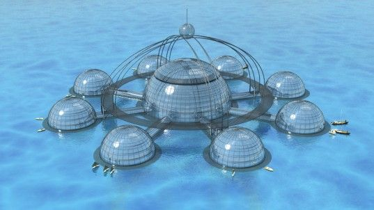 underwater biosphere, sub biosphere 2, biosphere, self-sufficient, self-sustainable, sustainable, underwater city, eco city, floating city, ...