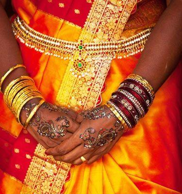 Significance of Solah Shringar for an Indian Hindu Bride - Kamarband