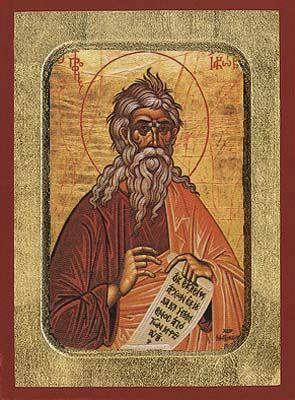 Jacob the Prophet - Byzantine Icon - OramaWorld.Com