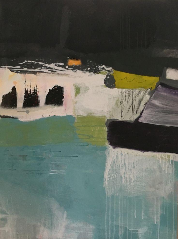 William Cokeley 2014 Acrylic, oil pastel on canvas