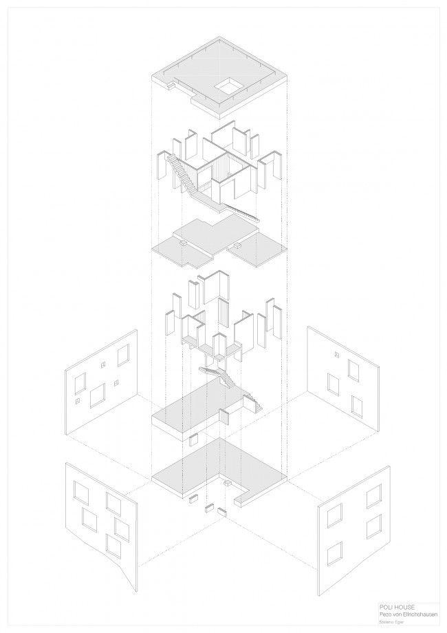 Stefano Eger. Poli House by Pezo von Ellrichshausen in Chile (2005)