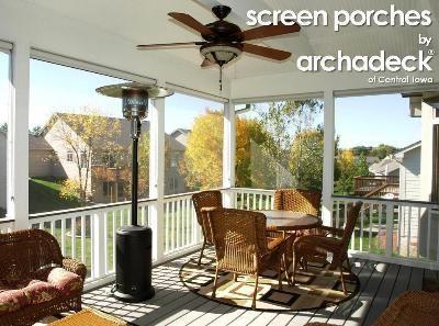 Screen Porch Des Moines Urbandale Rooms We Designed Built Pinterest Beautiful