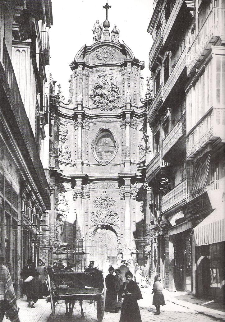 calle Zaragoza (actual plaza de la Reina) 1910 / Valencia / vintage / cities / photography