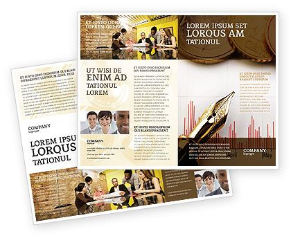 http://www.poweredtemplate.com/brochure-templates/financial-accounting/02260/0/index.html Financial Review Brochure Template