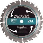 Makita 8-1/4 in. 24-Teeth Framing Carbide-Tipped Circular Saw Blade