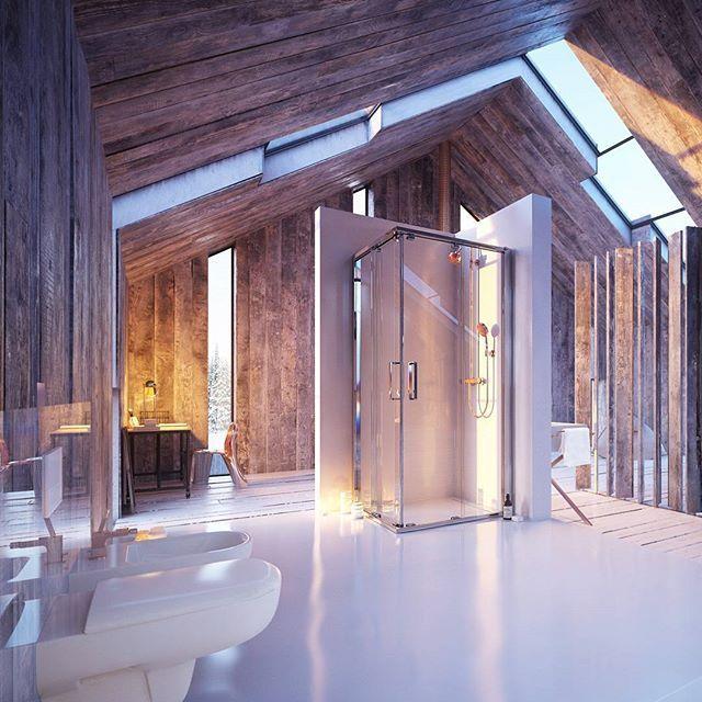 Zdjęcie specjalnie z dedykacją dla Fanów nie oczywistych rozwiązań!  #KOŁO #kabinaprysznicowa #inspiracja #productdesign #bathroom #shower #inspiration #design #designphoto #interior #interiordesign