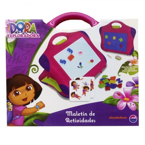 Maletin de Actividades Dora la Exploradora. - Juegos Didácticos JulioCepeda.com