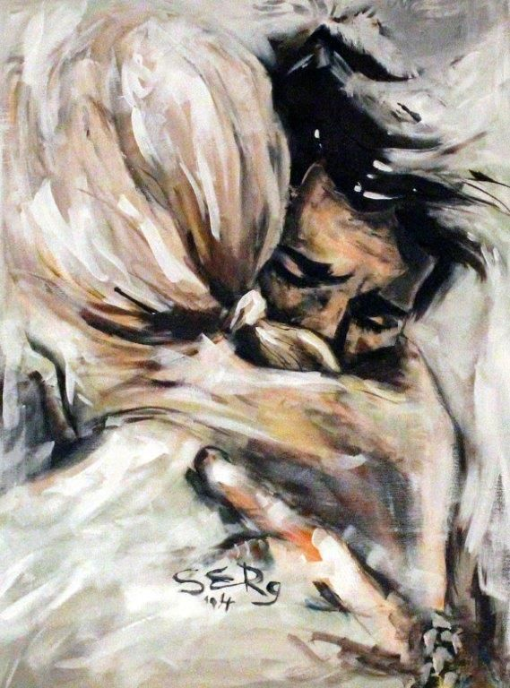Lovers Embrace... the hugs that make you cry.. <3