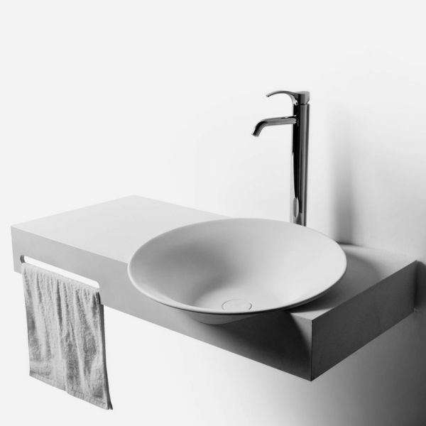 Waschbecken Design Gefäß Weiß
