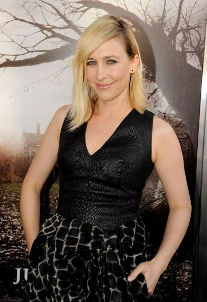The #gorgeous Vera Farmiga at the premiere of 'The Conjuring.' #Makeup by Dawn Broussard. #Hair by Renato Campora. #Styling by Erin Walsh.