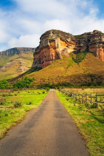 Into the Mountain, South African Landscapes, South Africa