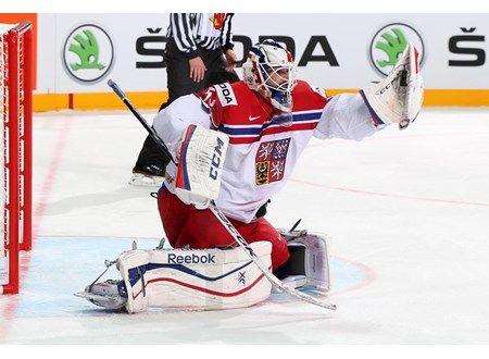 Alexander Salak Czech Rep. IIHF WC 2015