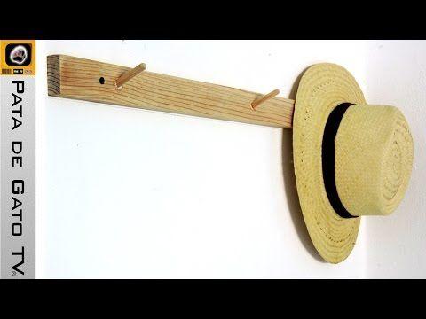 Take a peek into my channel here 👀 Percha de pared para sombreros o bolsas / Wall hanger for hats or purses. https://youtube.com/watch?v=M-MKXSp9CWk