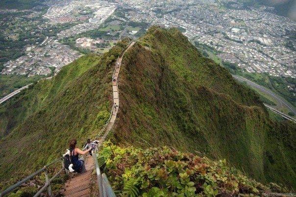 Тропа Хайку, Оаху, Гавайи, США - Путешествуем вместе