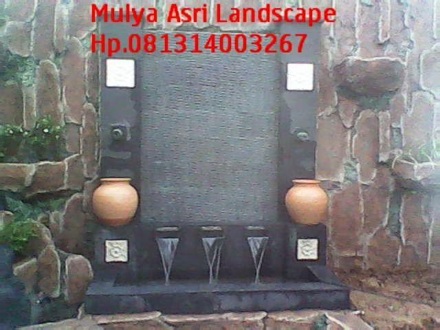 Jasa pembuatan kolam minimalis | kolam air terjun minimalis Mulya Asri Taman  Hp. 0813 1400 3267