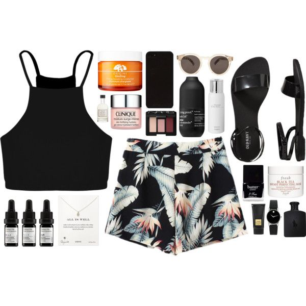 Disappear by mariimontero on Polyvore featuring Boohoo, Old Navy, Dogeared, Movado, Illesteva, NARS Cosmetics, Fresh, Odacité, Clinique and Tom Ford