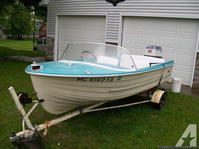 vintage fiberglass boat eBay