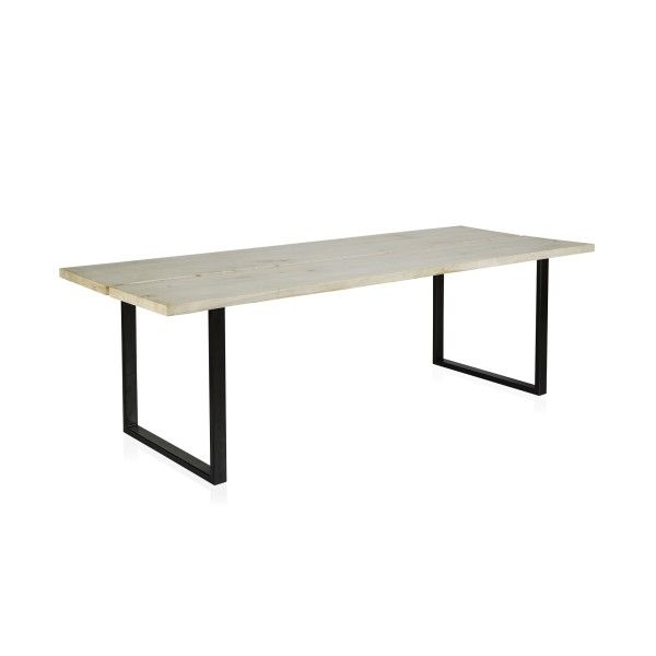 Hudson Timber Plank Dining Table - Rectangle - Dining Tables - Furniture