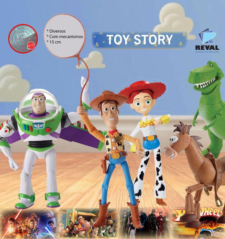 Toy Story é um filme de aventura e comédia de 1995. Os personagens centrais do filme são brinquedos do quarto de um menino de oito anos, Andy, e é contado, em sua maioria, pelo ponto de vista deles. Peça pelo código Reval 56816 (ref. Mattel: Y4569) pelo 0800-701-1811 ou pelos representantes de vendas de sua região e ótimas vendas! #Reval #Mattel #RadarMattel #ToyStory #Toy #Brinquedo #Kids #ActionFigure #Disney #Pixar
