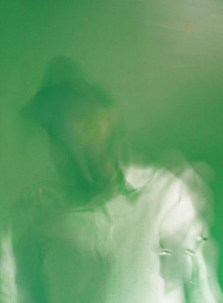 <p>Autoritratto su Menta (con Camicia Bianca)/ Selbstportrait auf Minz-Sirup (mit weißem Hemd)/ Self-portrait on Mint Syrup (with white shirt), 2009.</p> <p>Epson Print auf Papier aus 100% Baumwolle, gerahmt - epson print on 100% cotton paper, framed.</p> <p>27 x 40 cm - 10 x 16 in.</p>