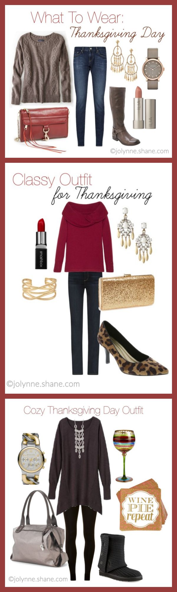 Casual Outfit for Thanksgiving Day plus TWO MORE Thanksgiving outfit ideas! Three fashion bloggers are sharing what to wear for Thanksgiving. Get some outfit inspiration AND enter for a chance to WIN a $250 gift card to Rack Room Shoes!
